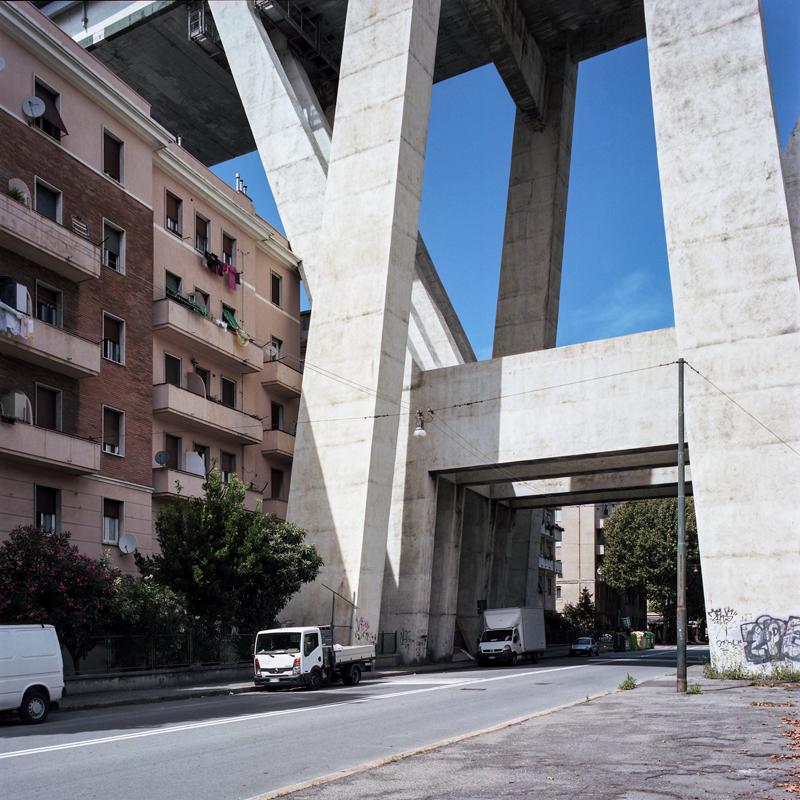Genova - Ponte Morandi, Luglio 2018