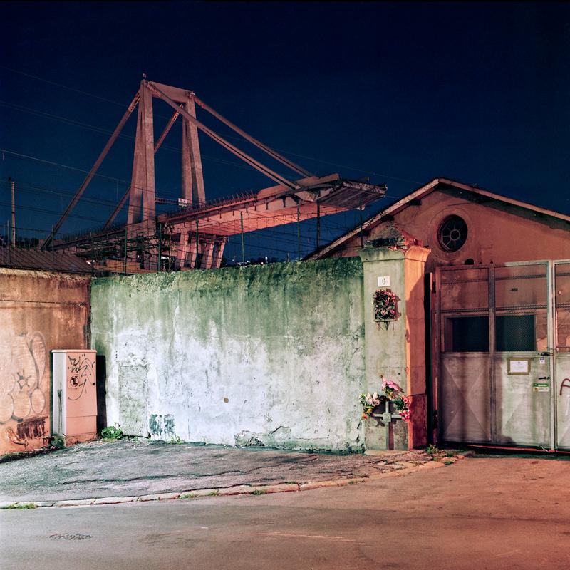 Genova - Ponte Morandi, Ottobre 2018